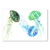 Americanflat Jellyfishes by Suren Nersisyan Art Print