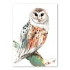 Americanflat Owl 2 by Suren Nersisyan Art Print