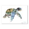 Americanflat Tortoise Blue by Suren Nersisyan Art Print