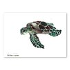 Americanflat Tortoise Green by Suren Nersisyan Art Print