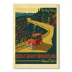Americanflat Poster National Park Great Smoky Mountains 2, Retro-Werbung von Anderson Design Group