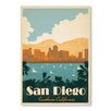 Americanflat San Diego Southern California by Anderson Design Group Vintage Advertisement