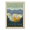 Americanflat Poster Salt Lake City, Retro-Werbung von Anderson Design Group