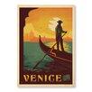 "Americanflat Poster ""Venice"" von Anderson Design Group, Retro-Werbung"