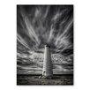 Americanflat Poster Dark Lighthouse, Fotodruck von Lina Kremsdorf in Grau