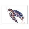 Americanflat Tortoise by Suren Nersisyan Art Print