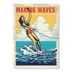 Americanflat Poster Making Waves by Anderson Design Group, Retro-Werbung