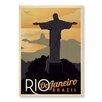 "Americanflat Leinwandbild ""Rio"" von Anderson Design Group, Retro-Werbung"