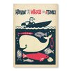 Americanflat Poster Having a Whale of a Time by Anderson Design Group, Retro-Werbung
