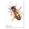 Americanflat Poster Bee VII, Originalgemälde von Suren Nersisyan