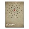 Americanflat Poster Pied Piper, Grafikdruck von Christian Jackson in Beige