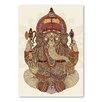 Americanflat Poster Ganesha, Grafikdruck von Valentina Ramos