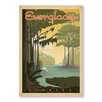 Americanflat Everglades by Anderson Design Group Vintage Advertisement in Green