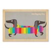 Americanflat Rainbow Dogs by Anderson Design Group Graphic Art