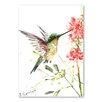 Americanflat Hummingbird 5 by Suren Nersisyan Art Print