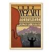 Americanflat Poster 1932 Mozart Fest, Retro Werbung von Music Festival Collection