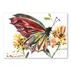 Americanflat Poster Butterfly, Kunstdruck von Suren Nersisyan
