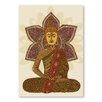 "Americanflat Leinwandbild ""Sitting Buddha"" von Valentina Ramos, Grafikdruck"