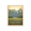 Americanflat Grand Teton National Park by Anderson Design Group Vintage Advertisement