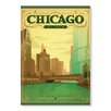 Americanflat Poster Chicago St.Patty is by Anderson Design Group, Grafikdruck