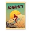 """Americanflat Poster """"Hawaii"""" von Diego Patino, Grafikdruck"""