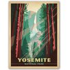 Americanflat Yosemite National Park by Anderson Design Group Vintage Advertisement