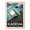 Americanflat Air Base Kadena Vintage Advertisement