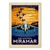 Americanflat Air Station Miramar Vintage Advertisement