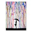 Americanflat Persephone Graphic Art Wrapped on Canvas