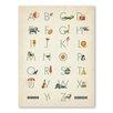 Americanflat Alphabet Boy Graphic Art