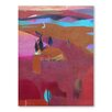 Americanflat Ridge Art Print Wrapped on Canvas