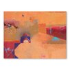 Americanflat Gateway to the Desert Art Print Wrapped on Canvas
