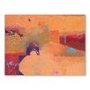 Americanflat Leinwandbild Tor zur Wüste, Kunstdruck