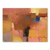 Americanflat Golden Light Art Print Wrapped on Canvas