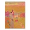 Americanflat Poster Desert Kasbahs, Kunstdruck