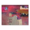 Americanflat Kasbahs in the Ziz Valley Art Print Wrapped on Canvas