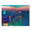Americanflat Meknes Art Print Wrapped on Canvas
