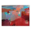 Americanflat Misty Marrakech Morning Art Print Wrapped on Canvas