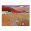 Americanflat Moroccan Journey Art Print Wrapped on Canvas