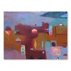 Americanflat Moroccan Kasbah Art Print Wrapped on Canvas