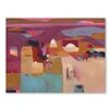 Americanflat Moroccan Shrine Art Print Wrapped on Canvas