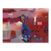 Americanflat Moroccan Haze Art Print Wrapped on Canvas