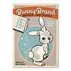 Americanflat Poster Bunny Brand Baby Powder 1