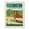 Americanflat Retro-Werbung Asa Lexington Kentucky