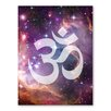 Americanflat Galaxy Ohm Graphic Art Wrapped on Canvas