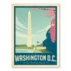 Americanflat Asa Washington DC 1003 Vintage Advertisement Wrapped on Canvas