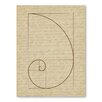 Americanflat Fibonacci 2 Graphic Art Wrapped on Canvas
