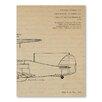Americanflat Leinwandbild Plane Triptych, Kunstdruck