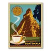 Americanflat Coffee Guatemala Vintage Advertisement