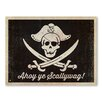 Americanflat Poster Pirate Flag, Grafikdruck